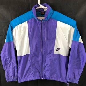 Nike VTG 80's 90's Women's Windbreaker Jacket Sz M